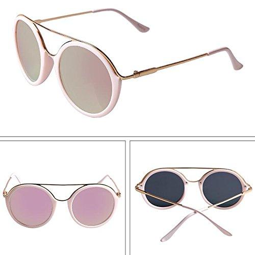 WYYY Solar de Gafas gafas Rojo Anti Protección Luz Conducción UVA Color Beige 100 Retro Polarizada Hombres Gafas Clásico sol Coloreado Protección Sra De UV qqrZx5t