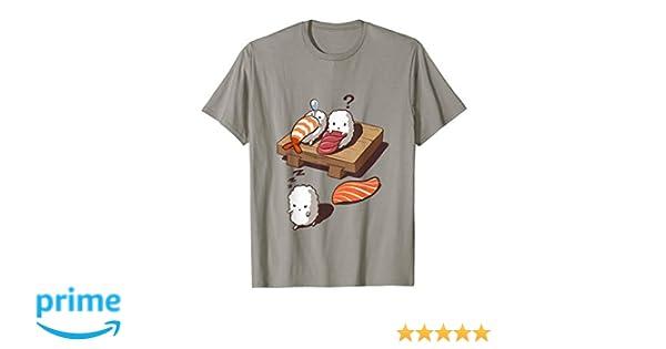 T-Shirt, Funny Sleep Walking Sushi, Japanese Foodie