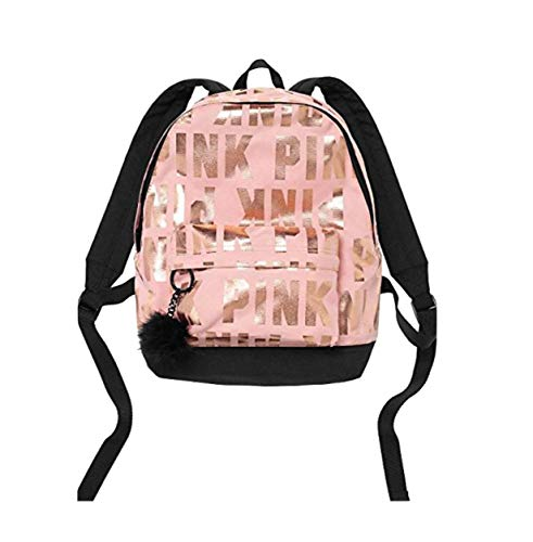 VICTORIA SECRET - PINK - SIGNATURE MINI Backpack WITH FUZZY KEYCHAIN - SOLD OUT - LIMITED EDITION CLEAR JELLY TOTE WITH VS DOG / PUP
