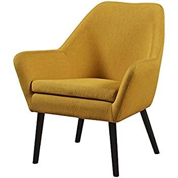 Amazon Com Metro Shop Quilted Mustard Yellow Upholstery