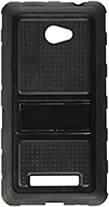 MYBAT HTC WIN8X CASKGM3057NP sensual gomoso Armadura el carcasa protector para HTC Windows Phone 8X - 1 Pack - empaquetado al por menor - Negro