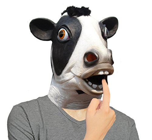 Cow Full Head Mask