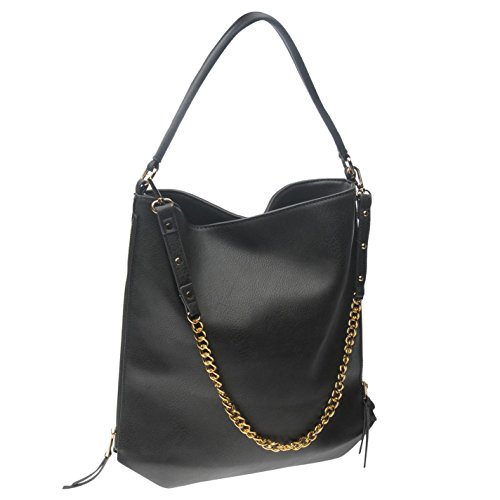 Full Circle Mujer Chain Strap Bolso de mano gris