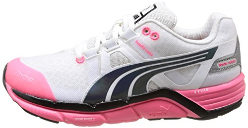 Puma black Chaussures Femme Running Wei V1 Wns 5 Pink 01 Blanc fluo Faas De White 1000 XwrXxOq