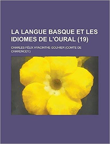 En ligne La Langue Basque Et Les Idiomes de L'Oural (19) pdf