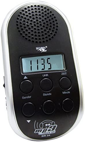 Point BR 24 - Radio para Bicicleta (sintonizador PLL, conexión MP3 ...
