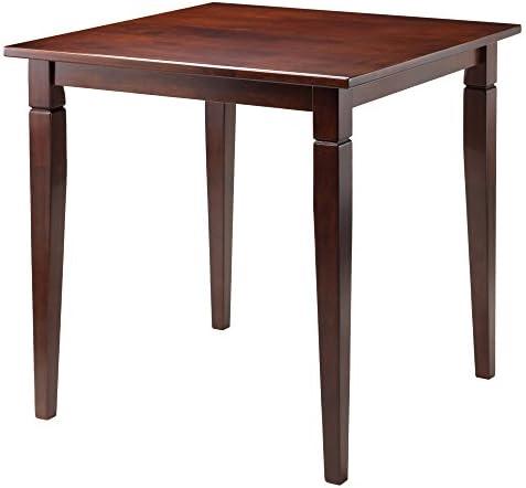 Winsome Kingsgate Dining Table, Walnut