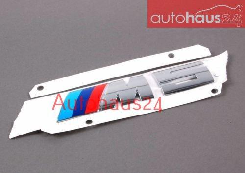 (Genuine BMW E28 E34 E39 E60 M5 New OEM Emblem Trunk Rear Boot Logo Emblem 51147898126)