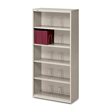 Amazon.com : HON 626 Series End Tab Open File : Desktop Shelves ...