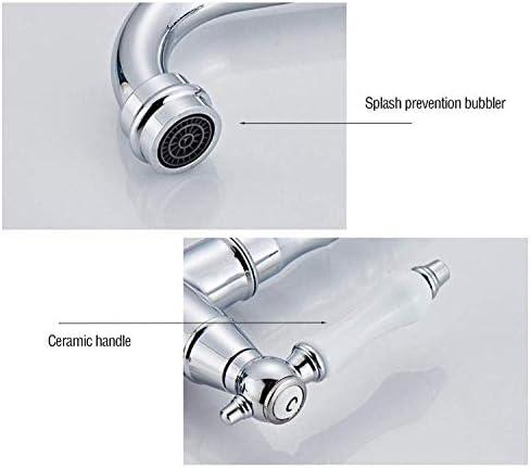 Bibcocks滝銅洗面化粧台洗面台ミキサータップクローム洗面器現代ファッションスタイル