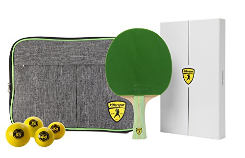 Killerspin JET200 Lime Table Tennis Racket Combo by Killerspin