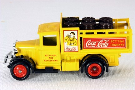 (Lledo Days Gone LC20 Coca Cola Bottling Company Delivery Stake)