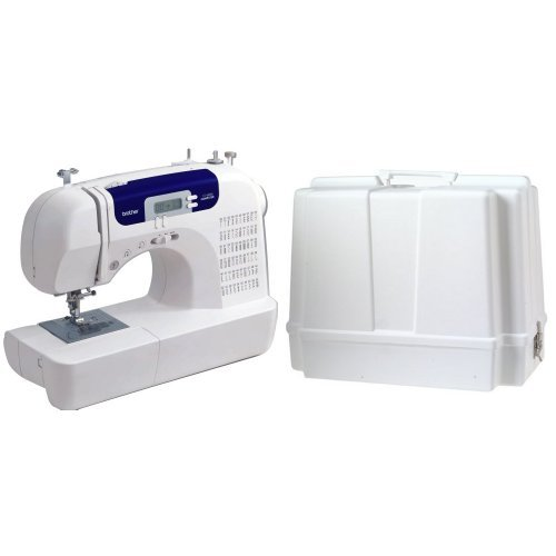 Brother CS6000i Feature-Rich Sewing machine and  Brother Sewing machine hauling Case