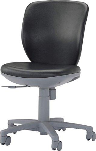 ライオン事務器 ビジネスチェアー No.290S ブラック 品番75806 B01LXG8DR7