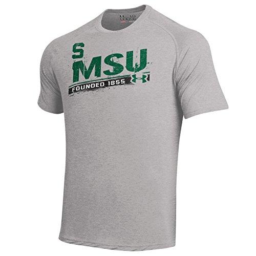 (Under Armour Men's  NCAA Short Sleeve Tech Tee -  Michigan State Spartans - Medium)