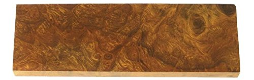 - EW173 Presentation Ironwood Knife Scales Set, 3/8 in x 1-5/8 in x 5 in Knifemaking