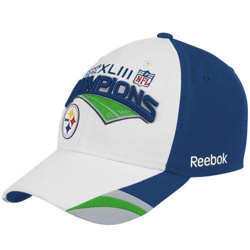 Reebok Pittsburgh Steelers Super Bowl Xliii Champions Locker Room Hat Size: One Size Fits All