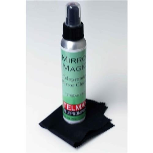 Telmax Mirror Magic Cleaning Kit with Cleaning Cloth for Teleprompters