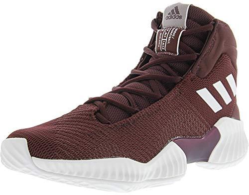 Adidas Court Sport Jacket - adidas Men's Pro Bounce 2018 Basketball Shoe, White/Maroon, 11 M US