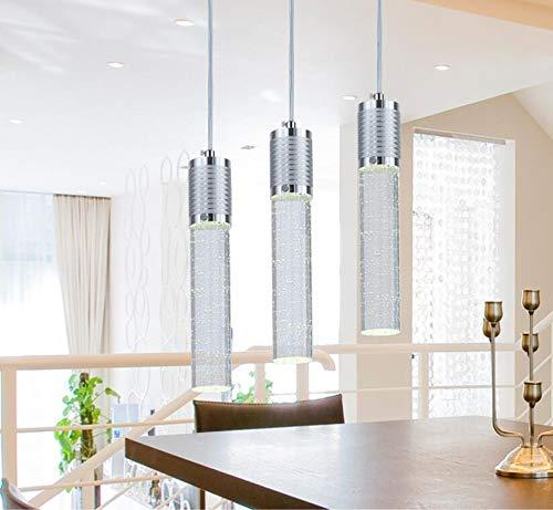FidgetKute LED Bubble Crystal Ceiling Light Dining Room Pendant Lamp Lighting Chandelier Single-headsingle-Head by FidgetKute (Image #2)
