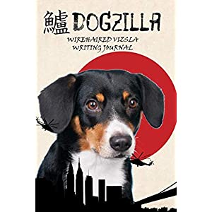 Dogzilla Wirehaired Vizsla Writing Journal 23
