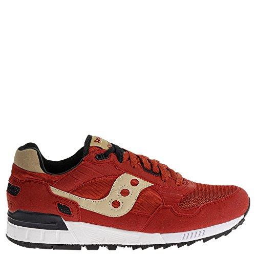 Saucony Originals Men's Shadow 5000 Classic Retro Running Shoe, Red, 8.5 M - Shoes Classic Saucony