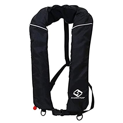 Image result for Floattop Adult Automatic Inflatable PFD Life Jacket Life Vest Survival Sailing Swimming Boating Fishing 150 Buoyancy 33lbs