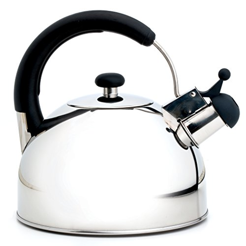 Norpro 5628 Whistling Tea Kettle, Stainless Steel