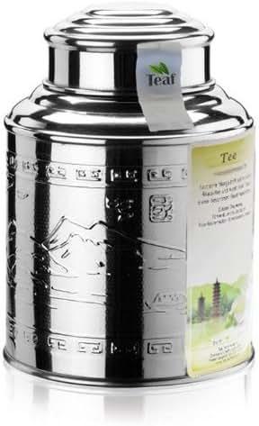 KOREA HWANG CHA - black tea - in a Tea Caddy - Ø 115 mm, height 150 mm (250g)