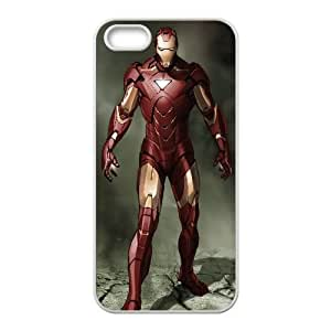 Iron Man Comic 0 iPhone5s Cell Phone Case White persent xxy002_6032360