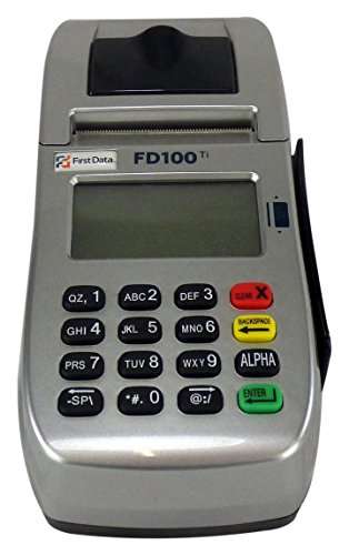 FIRST DATA FD100ti Terminal Unlocked Credit Card (Credit Card Processing Machine)