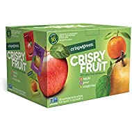 Crispy Green Freeze-Dried Fruits, Non-GMO, Gluten Free, No Sugar Added, Fruit Variety Pack, 0.36 Ounce (16 Count)(Packaging May Vary)