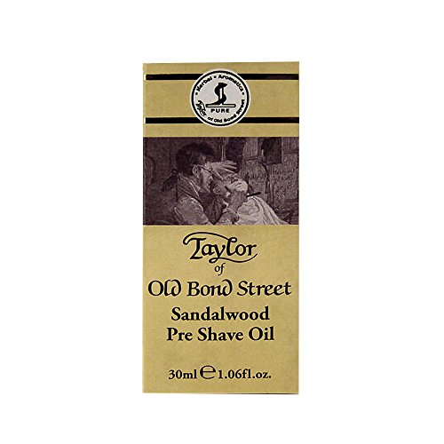 Taylor of Old Bond Street 1.06 oz / 30ml Sandalwood Pre Shave Oil by Taylor of Old Bond Street