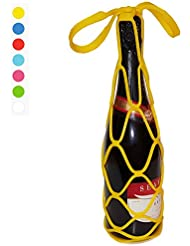 Ardis Wine & Champagne Tote Bag (Yellow) 3pcs