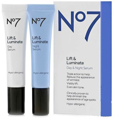 Boots No7 Lift & Luminate Day & Night Serum Review