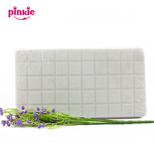 Pinkie Tm 1KG=1pc High Quality white Soap Base DIY Handmade Soap Raw Materials melt and pour Soap Base for Soap Making