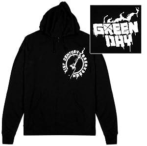 Amazon.com: Zip Hoodie -Green Day - Molotov: Sports & Outdoors