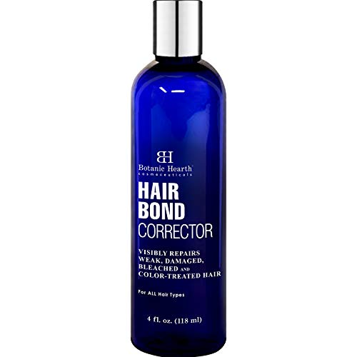 BOTANIC HEARTH Hair Treatment Bond Corrector for Damaged, Weak, Bleached and Color Treated Hair, 4 fl oz