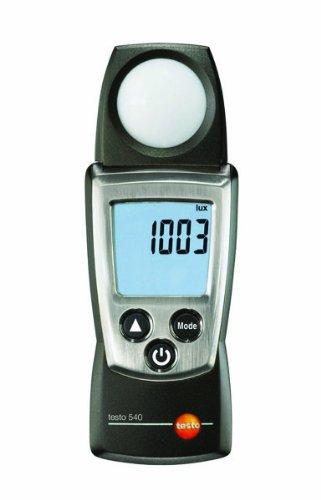 Testo 0560 0540 Pocket Pro Light Intensity Meter, +/- 3 Accuracy, 2 Type AAA Battery
