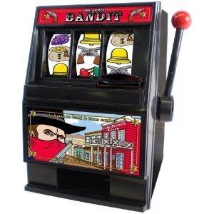 - One Armed Bandit Slot Machine Bank
