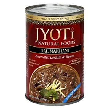 Amazon com : Jyoti Cuisine India Dal Makhani Lentils Bean 15 Oz