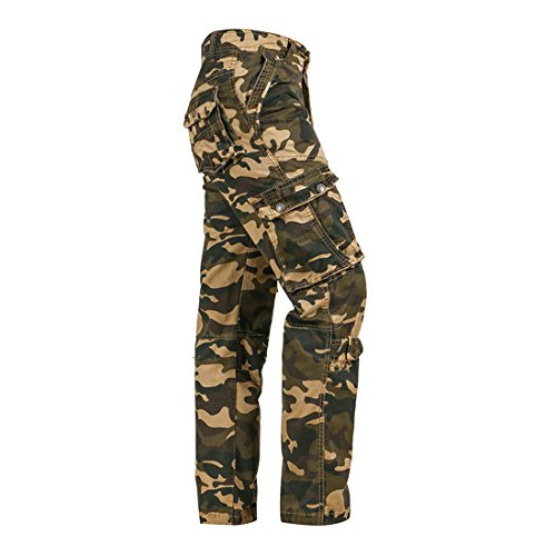 Relaxed Fit Fatigue Pants - 4