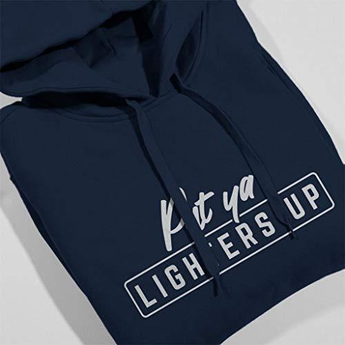 Lil Put Sweatshirt Ya Hooded Navy Lim Up Lighters Blue Lyrics Coto7 Women's FIqx1zdz