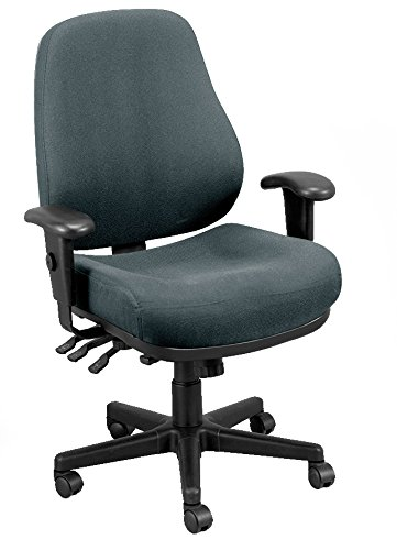 Eurotech Seating 24/7 24/7-CHARDOVE Swivel Charcoal Chair, Dove Charcoal