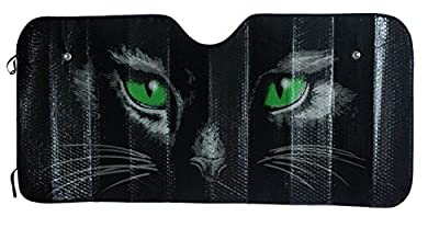 Designcovers Sun Shade with Cat Eyes 57 x 27 Inches