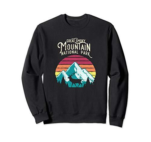 Great Smoky Mountains National Park Elk Deer Sweat Shirt