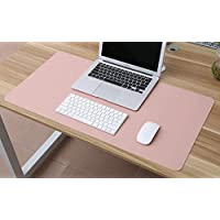 Large Waterproof PU Leather Desk Sets Writing Mat Office Game Mouse Pad (L)