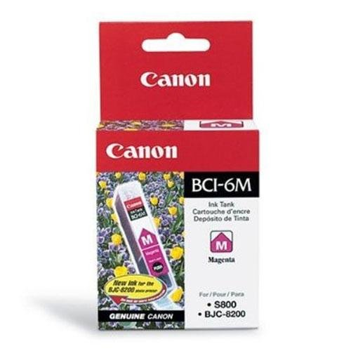 Canon BCI-6 Magenta Ink Tank Compatible to iP8500, iP6000D, iP5000, iP4000R, iP4000, iP3000, i9900, i9100, i960, i950, i900D, i860, S9000, S900, MP780, MP760, MP750, i560, S830D, S820D, S820, S800, BJC 8200