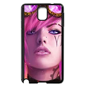 vi the piltover enforcer league of legends Samsung Galaxy Note 3 Cell Phone Case Black yyfD-366008