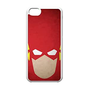 DIY Printed The Flash hard plastic case skin cover For iPhone 5C SNQ163275